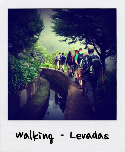 Walking-Levadas